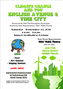 Able Mable Thomas Climate Change and You Event
